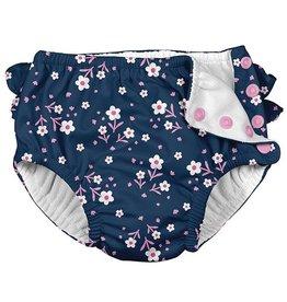 i play i play Posies Ruffle Swim Diaper