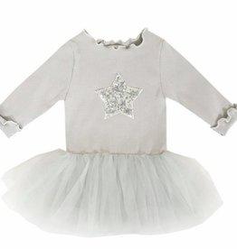 Petite Hailey Petite Hailey Baby Long Sleeve Tutu with Star