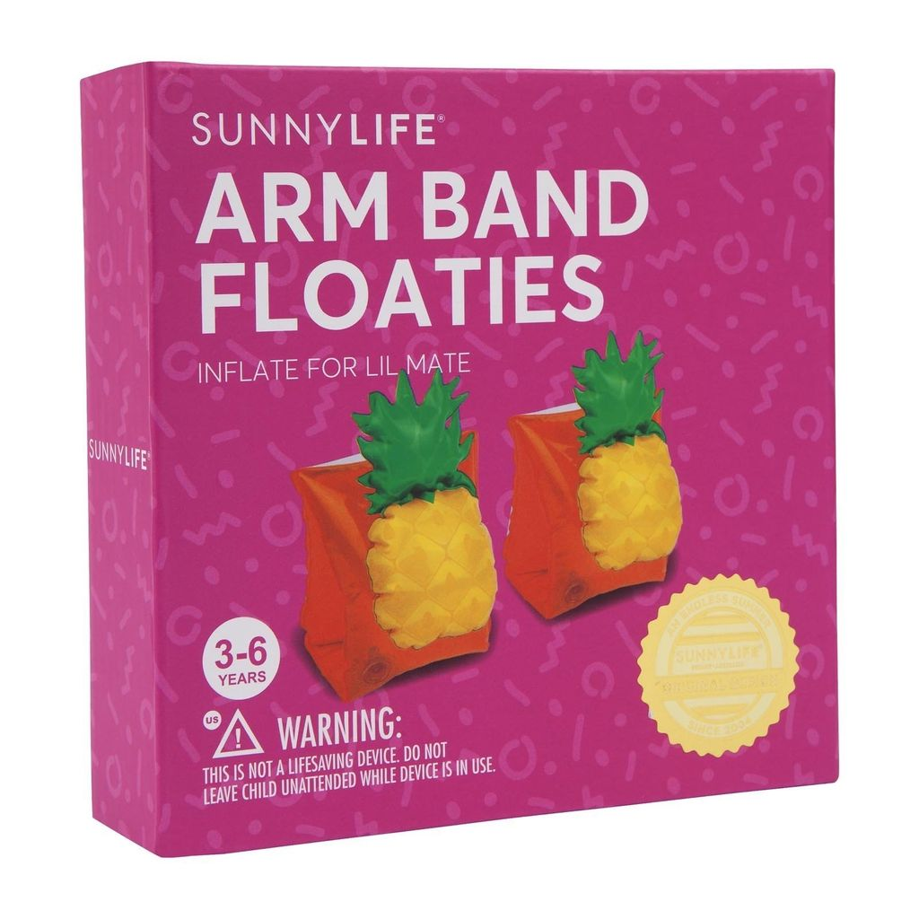 Sunny Life Sunny Life Kids Float Arm Band Pineapple
