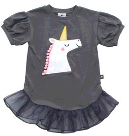 Petite Hailey Petite Hailey Unicorn Tutu Tulle Dress