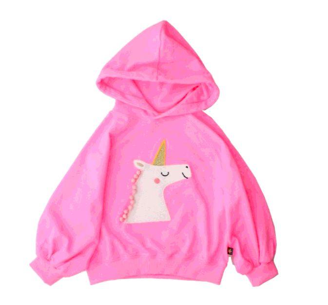 Petite Hailey Petite Hailey Unicorn Hoodie