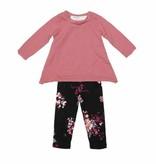 Joah Love Joah Love Angel Top with Floral Legging Set