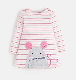 Joules Joules Mouse Applique Dress