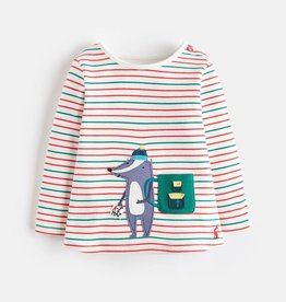 Joules Joules Badger Applique Top