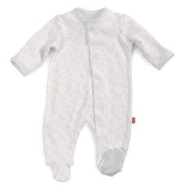 Magnificent Baby Magnificent Baby Celebration Organic Cotton Footie
