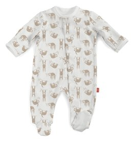 Magnificent Baby Magnificent Baby Silly Sloth Organic Cotton Footie