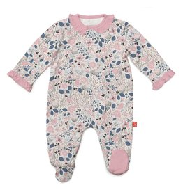 Magnificent Baby Magnificent Baby Cambridge Floral Modal Footie