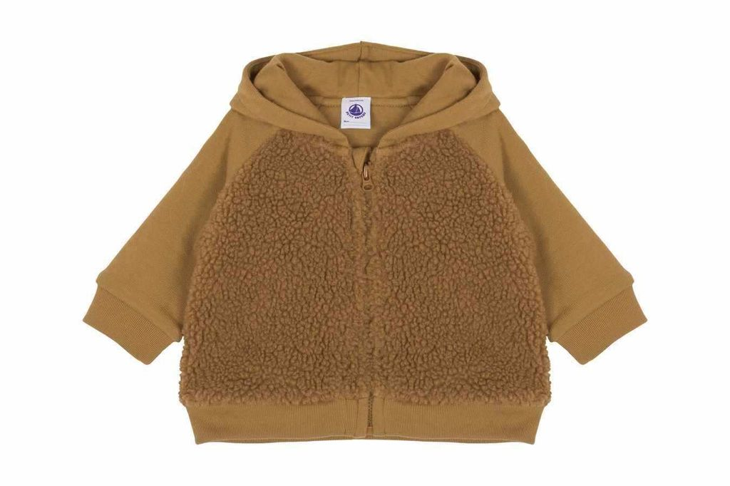 Petit Bateau Petit Bateau Hooded Sherpa Jacket