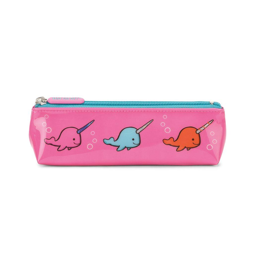 JellyCat Jelly Cat Seas The Day Fuchsia Novelty Long Bag