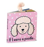 JellyCat Jelly Cat If I were a Poodle Blush Book