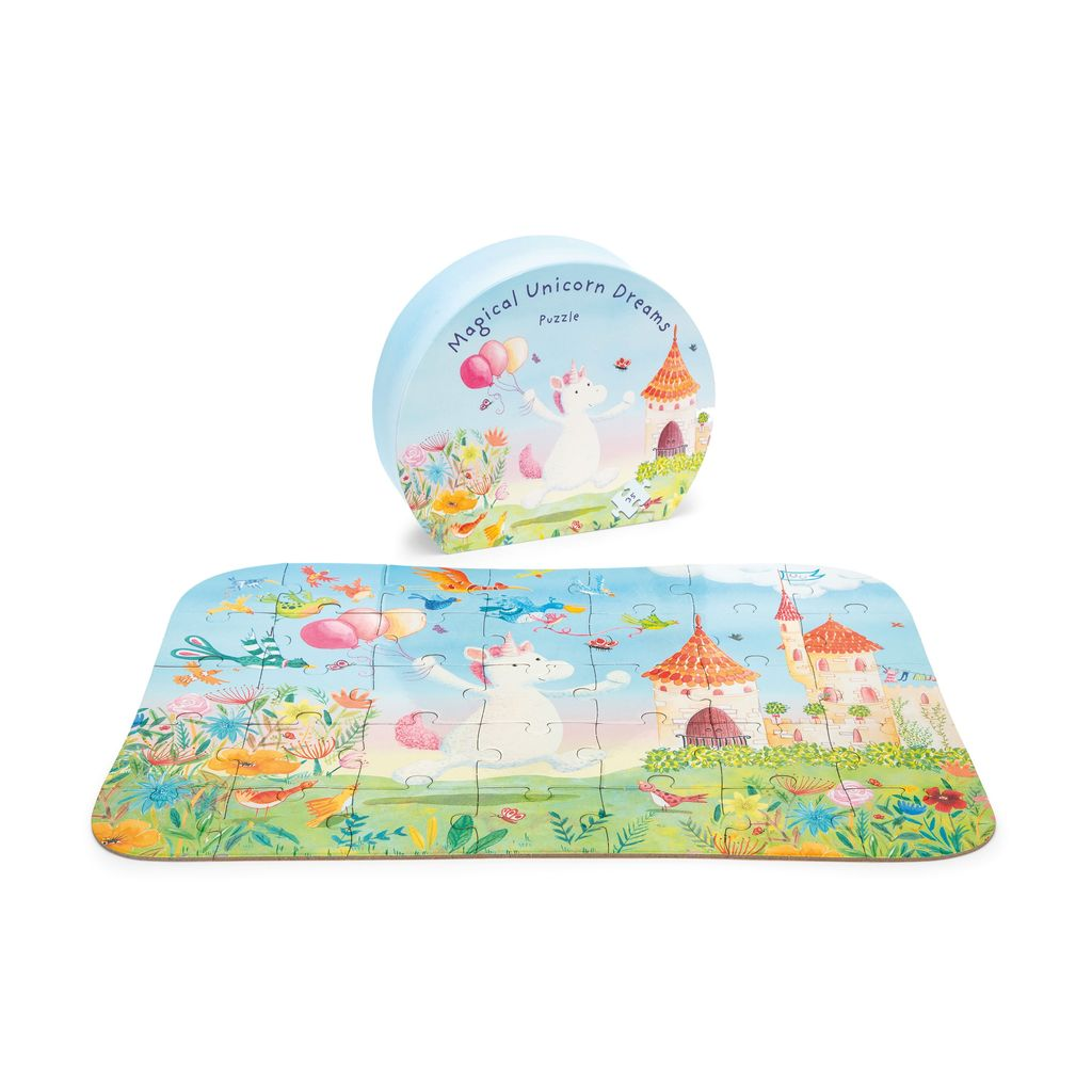 JellyCat Jelly Cat Mattie Unicorn Puzzle
