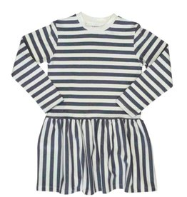 tooby doo Tooby Doo Striped Drop Waist Dress