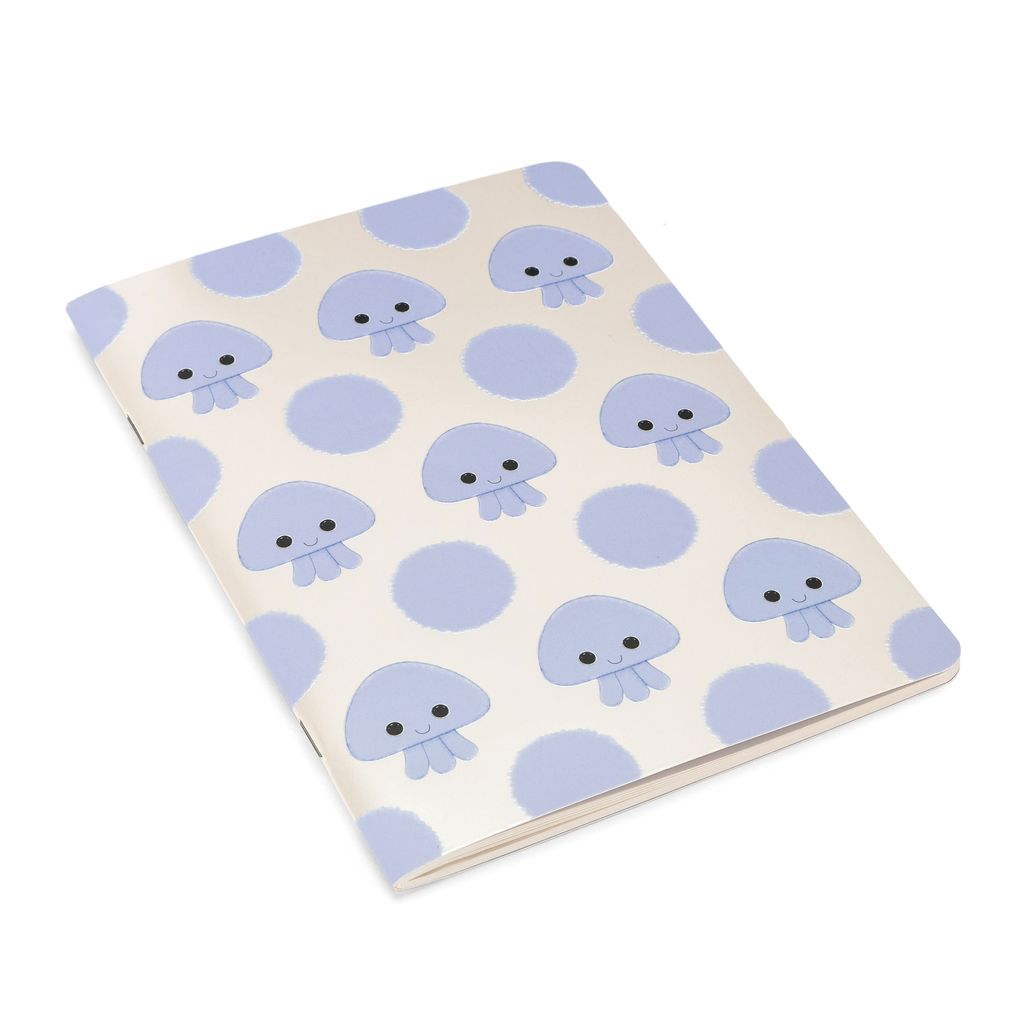 JellyCat Jelly Cat Kutie Pops Jellyfish Notepad