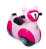 Waddle Waddle Pink Scooter Bouncy Animal