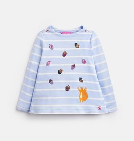 Joules Joules Striped Squirrel Top