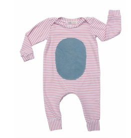 Thimble Thimble Striped Playtime Romper