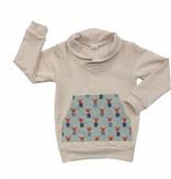 Thimble Thimble Shawl Collar Sweatshirt