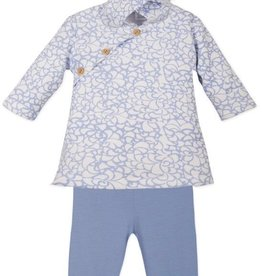 Feather Baby Feather Baby Floral Hoody Dress and Pants