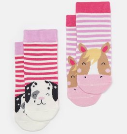 Joules Joules Horse Character Socks