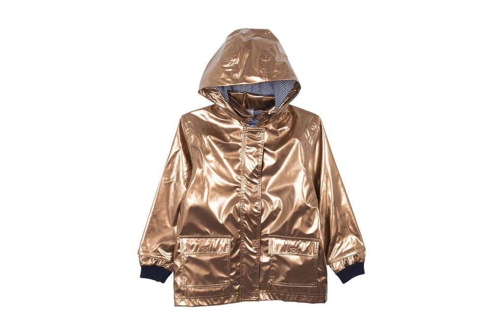Petit Bateau Petit Bateau Hooded Rain Coat