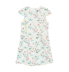 Petit Bateau Petit Bateau Short Sleeve Dress with Flower Print