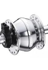 Shutter Precision Shutter Precision SV-8-FB Dynamo, Silver, 28h, 74mm x 8mm