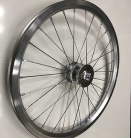 Shutter Precision Shutter Precision SV-8FB Hub Dynamo Wheel for Brompton, Silver