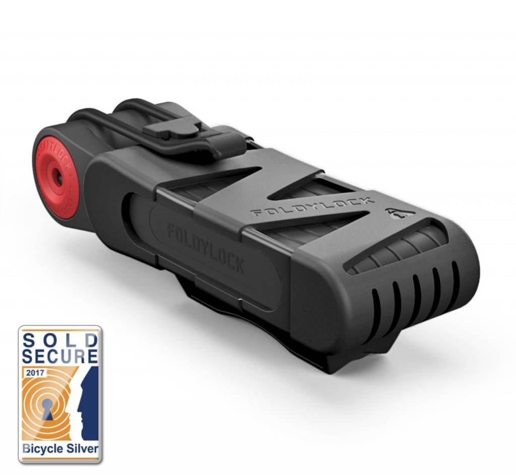 Foldy Lock Classic, Black, 95cm