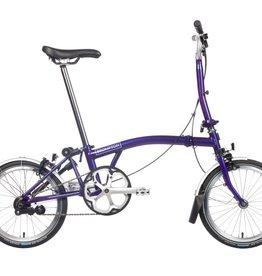 Brompton Brompton M6L, Purple Metalic