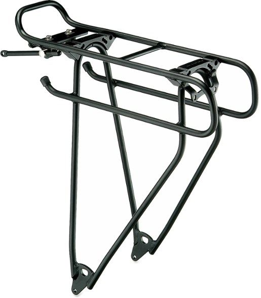 Racktime Addit Universal Rear Mount Rack: Black