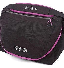 Radical Designs Brompton C Bag & Frame, Black with Berry Crush Trim