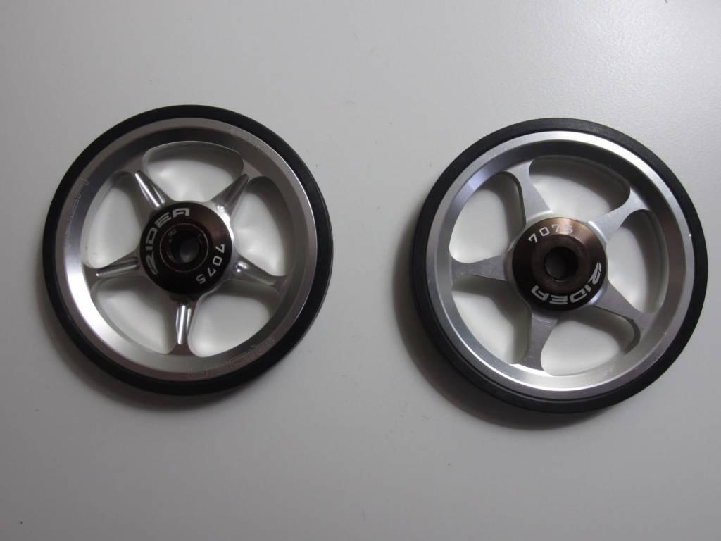 Ridea Ridea Easy Wheels, 7071 Silver