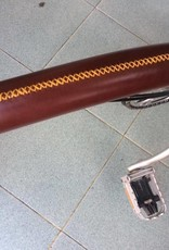 P'Na Leather Top Tube Protector for Brompton