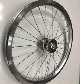 Brompton Brompton Front SP Dynamo Wheel, Superlight Spokes, Silver