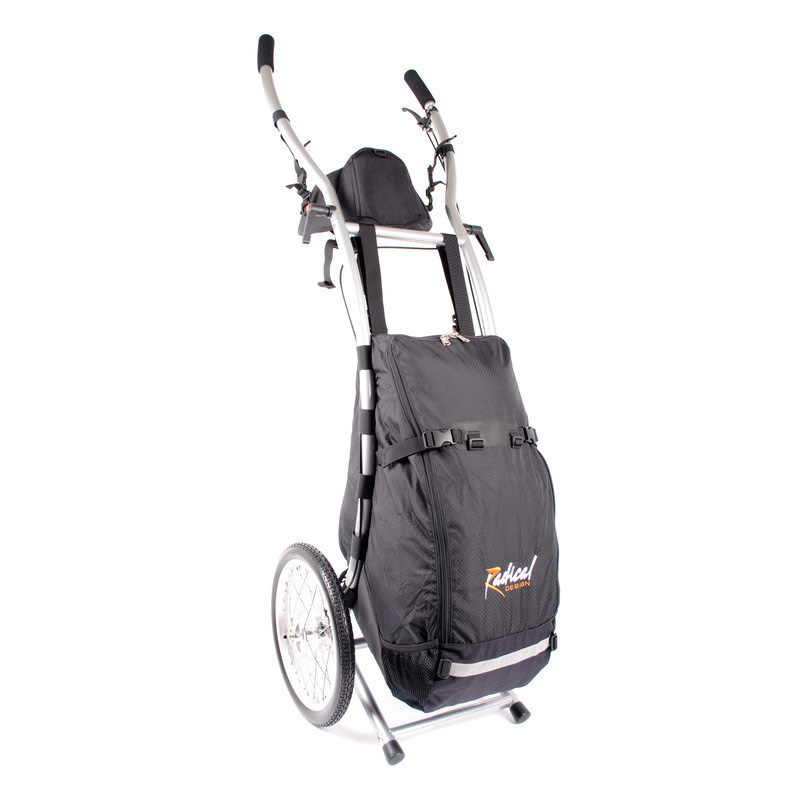 Radical Designs Radical Design Wheelie V Walking Trailer, Braked
