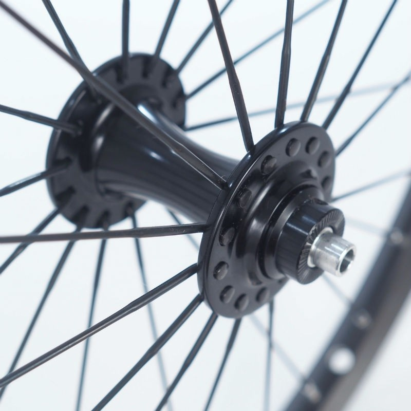Brompton Brompton Superlight Front Wheel, Black Edition