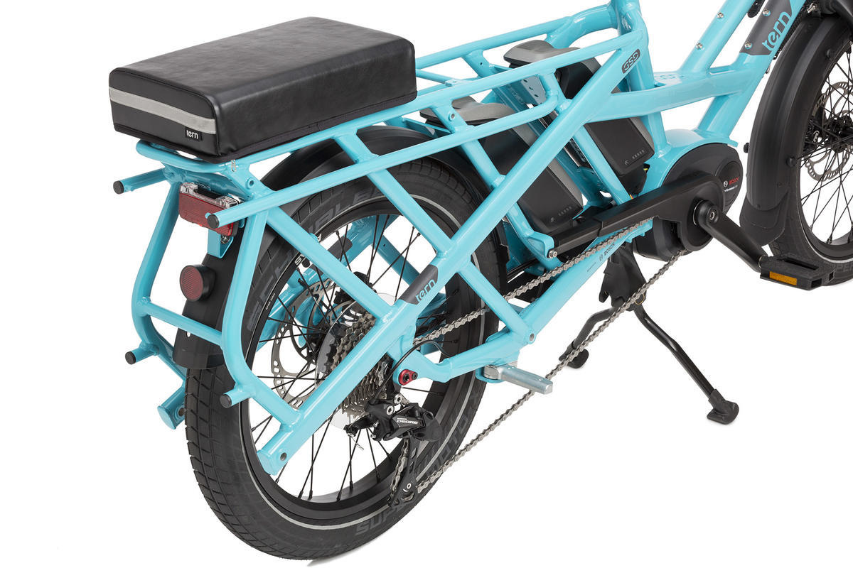 Tern Tern Sidekick Seat Pad, Black, for GSD/HSD