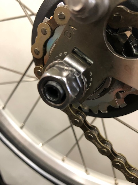 Info - Brompton Rear Wheel Removal and Re-Installation with