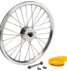 Brompton Schmidt SON XS Dynamo Front Wheel for Brompon, Sapim DB Spokes