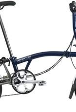 Brompton Brompton S6L-X Tempest Blue/Ti, Kojak Tires