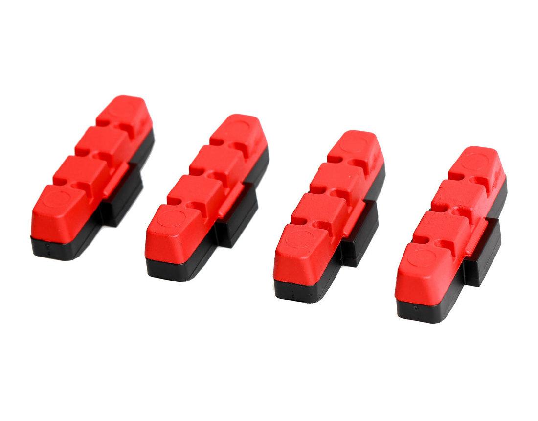 Magura Hydraulic Rim Brake Pads, RED, Pair