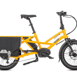 Tern Tern GSD S00 Cargo Bike, 500Wh, Canary Yellow, Single Battery