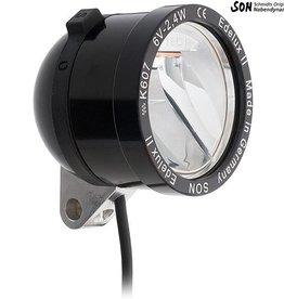 Schmidt Edelux II Black Anodized 140cm wire