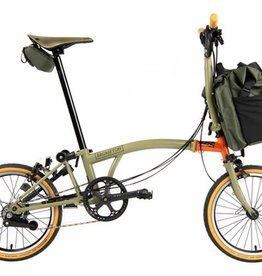 Brompton Brompton M6L Explore Edition - Moss Green/Orange