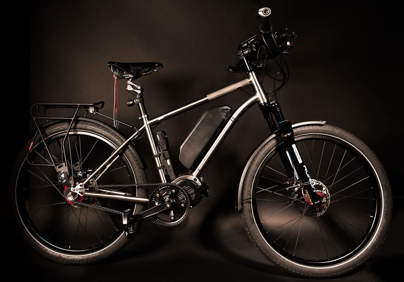Watt Wagons Watt Wagons Ultimate Commuter Pro E-bike, Rohloff