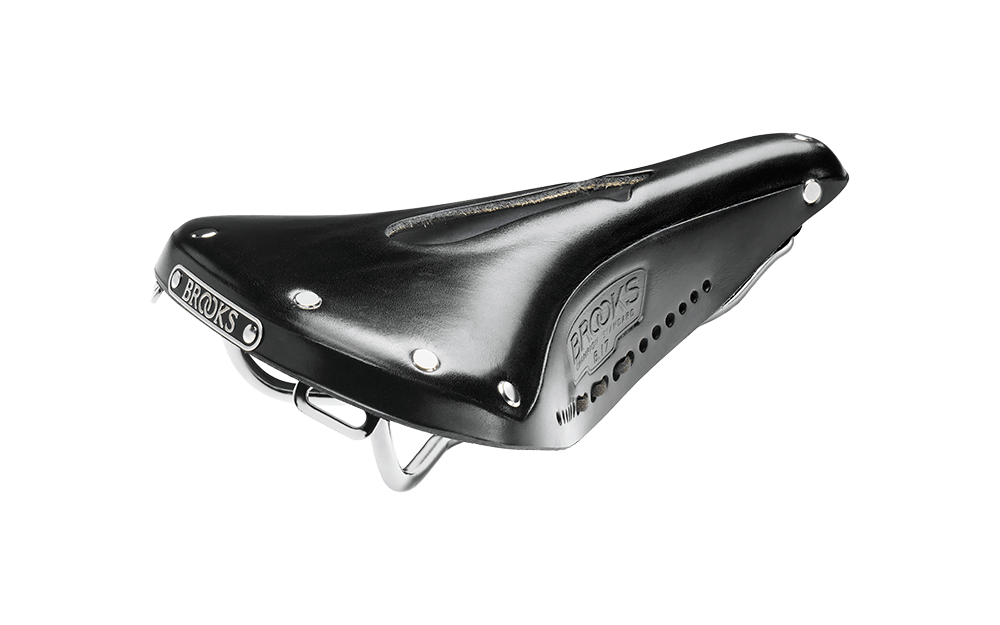 Brooks Brooks B17 Imperial Saddle - Steel, Black, Men's