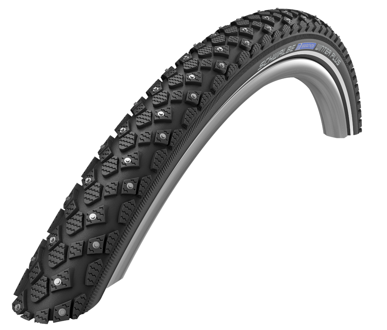 "Schwalbe Schwalbe Marathon Winter Plus for GSD, 20"" x 2.15"" (55-406)"