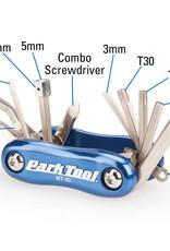 Park Tool Park Tools MT-30 Multi Tool, 2.5/3/4/5/6/8/T25/ T30/8/15mm Box
