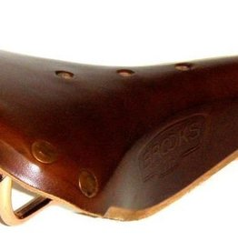 Brooks Brooks B17 Special Men's Saddle, Large Rivets, Copper Rails
