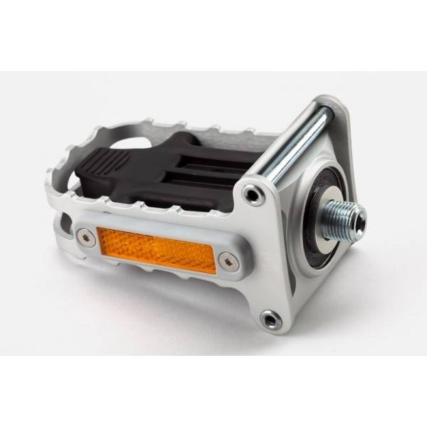 Brompton Brompton Left Hand Folding Pedal, Silver